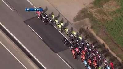 环加泰罗尼亚自行车赛第二赛段全场录播(中文)