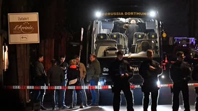 多特欧冠赛前大巴突遇爆炸 巴尔特拉受伤已送医手术