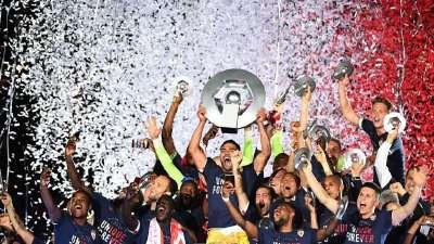 录播-2016/17法甲颁奖典礼 摩纳哥时隔17年再夺冠