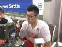 邹雨宸:做好今晚出战准备 明年还要尝试NBA选秀