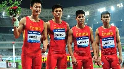 伦敦我们来啦!中国田径队出征大片震撼来袭