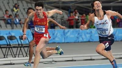 世锦赛男子110米栏半决赛 谢文骏小组第3无缘决赛