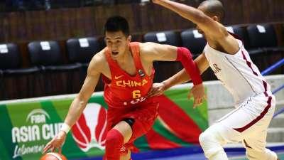 亚洲杯-郭艾伦狂砍30分 中国92-67胜卡塔尔迎首胜