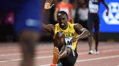 世锦赛男子百米接力:博尔特伤退 中国遗憾获第4