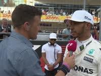 排位赛赛道采访 汉密尔顿尽会最大努力跑好正赛