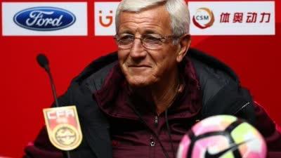 里皮:与哥伦比亚队的比赛会有三到四处变化