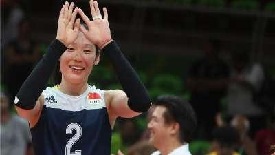 """朱婷入奥运女排""""30+""""榜单 单场霸气斩33分列第三"""
