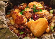 板栗紅枣糯米鸡