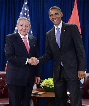 奥巴马访古巴