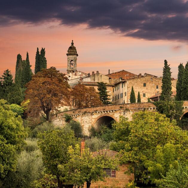 托斯卡纳,意大利艺术和美酒诞生地
