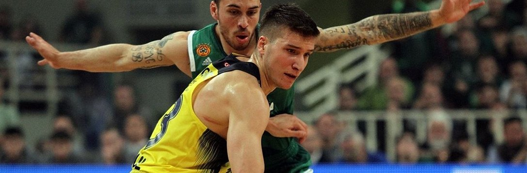 欧篮1/4决赛G2 MVP 博格丹诺维奇25分助队夺赛点