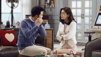 """沙溢胡可爆笑诠释""""互相信任""""的夫妻模式-一路上有你第二季"""