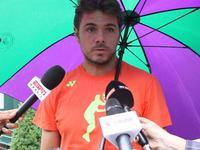 乐视网球温网专访瓦林卡  首轮面对弗里兹艰难