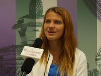 乐视网球专访萨法洛娃 透露巡回赛朋友超多