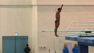 喜感反差 中国跳水队和菲律宾跳水队对比