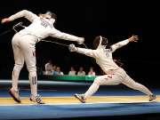 中国重剑女团摘银