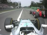 F1意大利站正赛:汉密尔顿超越里卡多上到第五