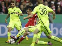 录播:拜仁慕尼黑 VS 奥格斯堡(粤语)16/17赛季德国杯