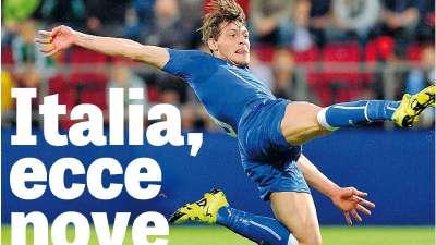【意大利·贝罗蒂】时隔10年意大利终获新神锋 创百年纪录维埃里托尼皆不如他