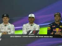 F1阿布扎比站排位赛赛后新闻发布会