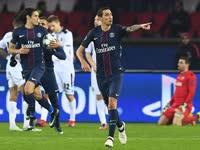 欧冠-卡瓦尼倒钩天使92分钟救主 巴黎2-2卢多戈雷茨
