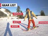 滑雪硬知识--初次单板滑雪必须要知道的三件事