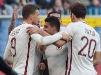意甲-佩雷斯传中造乌龙致胜 罗马1-0客胜热那亚