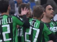 意甲-马特里双响头牌两助 萨索洛4-1巴勒莫