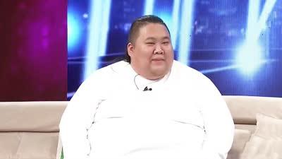 大胖子减肥后再上舞台