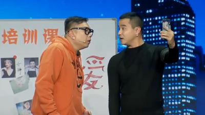 小强姜超神搭档卖萌耍宝