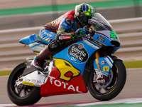 Morbidelli开场独占鳌头 Moto2正赛劲爆发车
