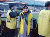【李响】第一个进入阿扎迪的女记者 抢镜比赛成焦点
