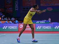 新加坡羽毛球公开赛女单1/8决赛 辛德胡vs菲迪亚尼