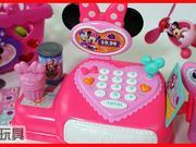 米奇妙妙屋收银机玩具和米老鼠米妮的糖果机
