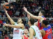 录播:2016-17赛季欧篮1/4决赛第2回合 中央陆军vs巴斯克尼亚