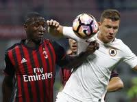 第35轮录播:AC米兰VS罗马(粤语)16/17赛季意甲