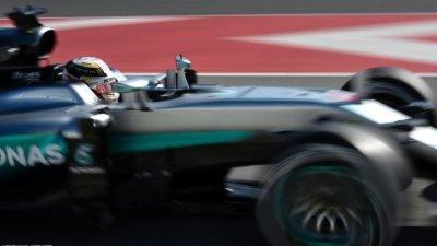 F1墨西哥站FP1(车载)