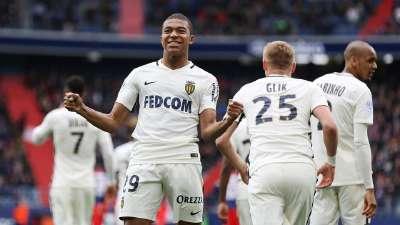 法甲-姆巴佩双响+造点 摩纳哥3-0卡昂4连胜稳居榜首