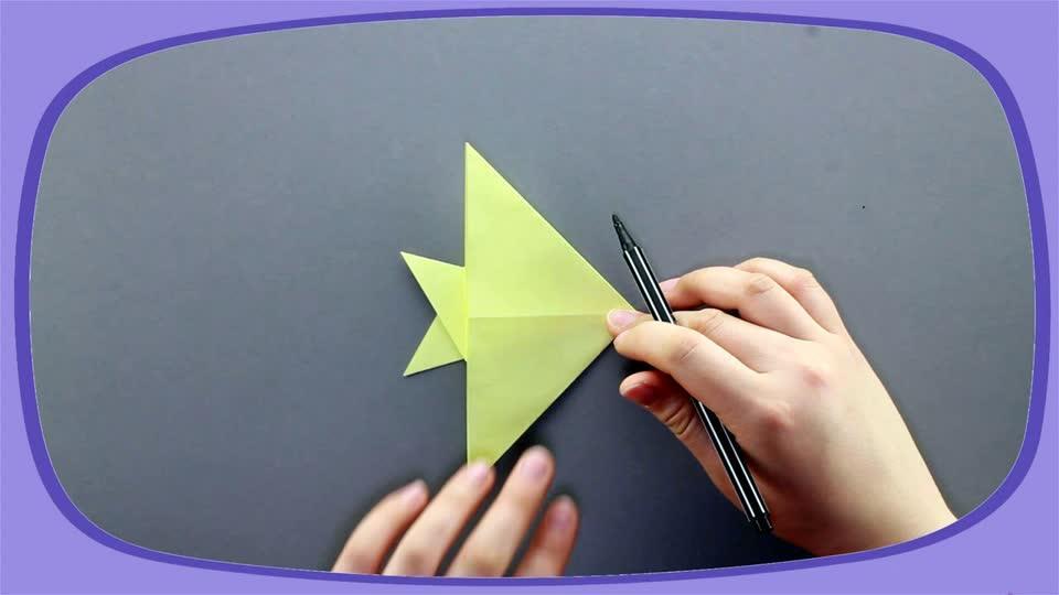 折纸乐园-03小鱼快手球哥说球图片