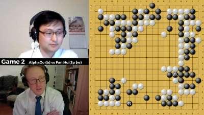 金明完讲解分析AlphaGo樊麾五番棋大战棋谱