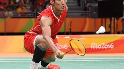 赛后发布会 谌龙感谢中国羽毛球队