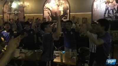 富力TV:广州富力观赛聚会 球迷替球队惋惜