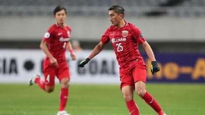 【进球GIF】艾哈迈多夫破门 上海上港扳平比分