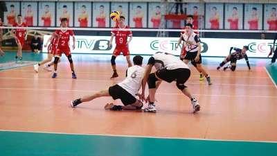 男排超级联赛第七轮 福建男排0:3广东男排