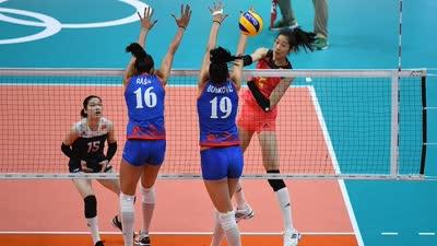 中国女排0-3被塞尔维亚横扫 淘汰赛恐遇劲敌