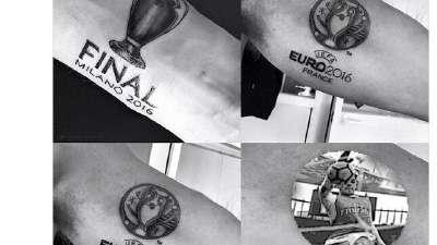 网友狂黑克拉滕伯格 桑切斯手球成最新纹身