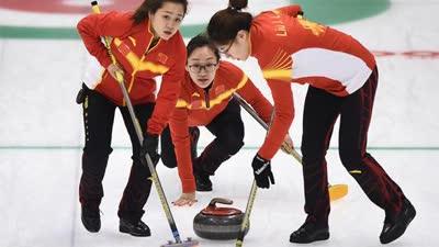 亚冬会女子冰壶中国23-1胜卡塔尔 取两胜一负战绩