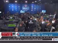 NFL选秀大会第30顺位 弗农-巴特勒 (黑豹)
