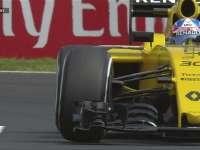 F1匈牙利站FP3:帕默尔飘进弯