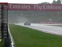 F1匈牙利站排位赛Q1:雨势过大触发红旗